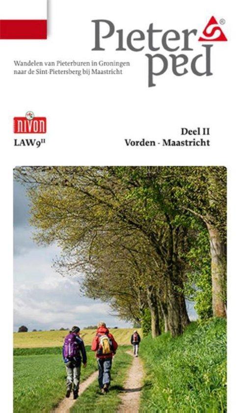 Boek cover LAW 9-II - Pieterpad 2 Vorden - Maastricht van Maarten Goorhuis (Paperback)