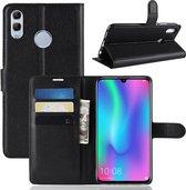 Huawei P Smart 2019 / Honor 10 Lite Hoesje - Book Case - Zwart