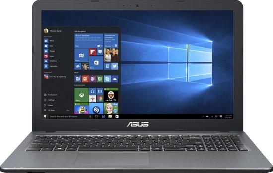 ASUS F540LA-DM1493T Zilver Notebook 39,6 cm (15.6'') 1920 x 1080 Pixels 2 GHz Vijfde generatie Intel® Core™ i3 i3-5005U