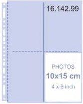Henzo 1614199 10Fototassen A4 transparant