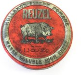 Reuzel Hf Pomade Water Soluble High Sheen - Red 35 gr