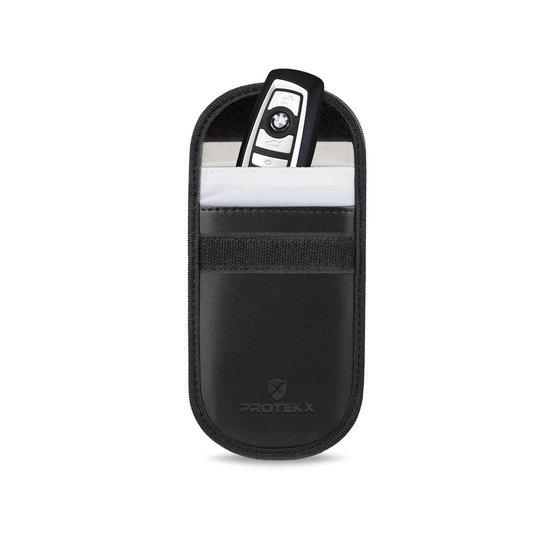 PROTEKX  Autosleutel RFID anti-diefstal beschermhoes - Voor auto's & motoren met Keyless Entry en Keyless Go - Zwart