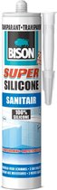 Bison Siliconenkit Super Sanitair - 310 ml
