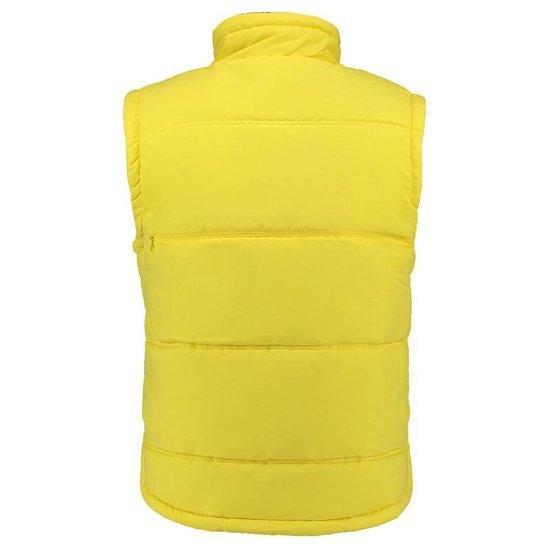 Basic Bodywarmer Geel Voor Heren - Winddichte Mouwloze Sport Vesten S (36/48)