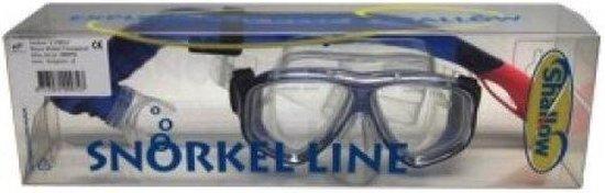 Shallow Duik-set lybra blauw transparant middel