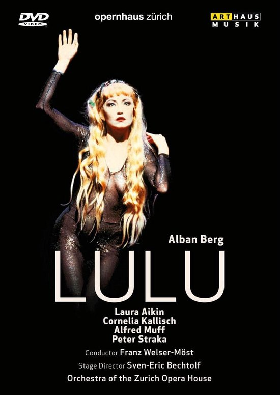 Cover van de film 'Alban Berg - Lulu'