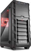 AMD Ryzen 5 2600 Allround Game Computer / Gaming PC - GeForce GTX 1050 Ti 4GB - 16GB RAM - 120GB SSD - 1TB HDD - Windows 10