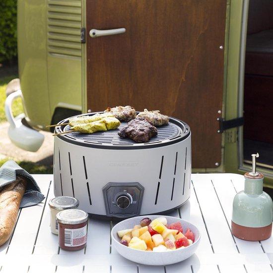 Tristar BQ 6840 Kolenbarbecue Albufeira grijs barbecue kopen