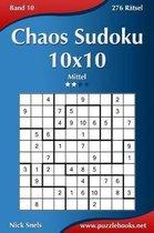 Chaos Sudoku 10x10 - Mittel - Band 10 - 276 R tsel