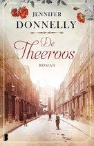 Boek cover De theeroos van Jennifer Donnelly (Onbekend)