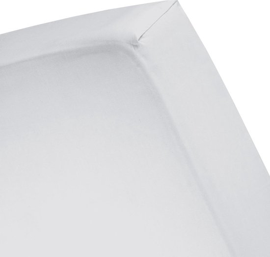Cinderella - Hoeslaken (t/m 30 cm) - Satijn - 160x210 cm - Light Grey