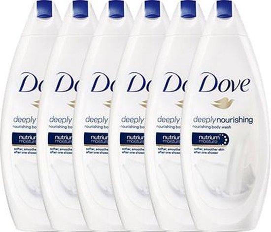 Dove Deeply Nourishing Douchecrème - 6 x 250 ml - Voordeelverpakking