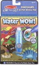 Water Wow Dinosaurus - Paars