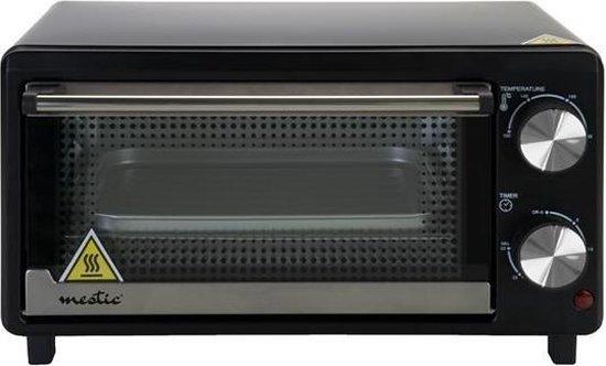 Mestic MO-80 Oven - 10L - Zwart