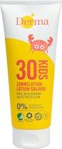 Derma Eco Sun Kids Zonnebrandlotion SPF 30 - 2 x 200 ml - Voordeelverpakking