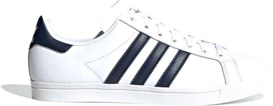 adidas COAST STAR Heren Sneakers - Ftwr White/Collegiate Navy/Ftwr White