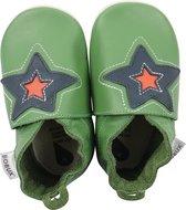 babyslofjes Astro ster groen Maat: S (112 cm)