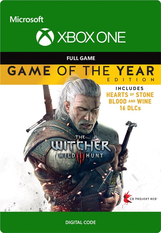 The Witcher 3 Wild Hunt Game of The Year Digital Edition Full Game