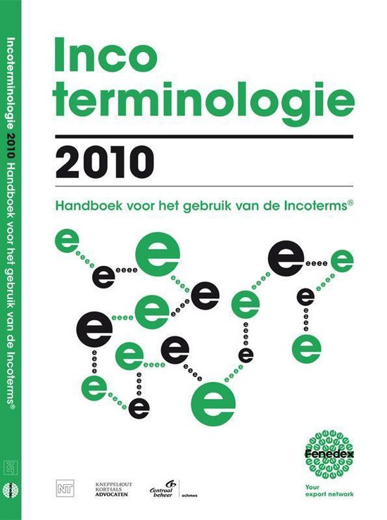 Cover van het boek 'Incoterminologie / 2010'