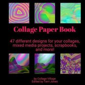 Collage Paper Book
