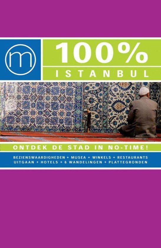 Cover van het boek '100% istanbul' van D. Vermeiren