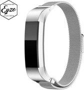 Milanees bandje voor Fitbit Alta / Alta HR Bandje – Small – RVS Milanees Watchband voor de Activity Tracker – Zilver / Silver– Band met Magneetsluiting
