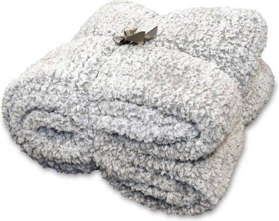 Unique Living Knut - Fleece plaid - 150x220 cm - Grey
