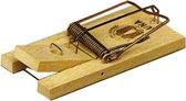 Hendrik Jan muizenval hout 10 cm 2 stuks