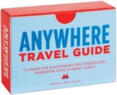 Boek cover Anywhere - Travel Guide van Magda Lipka Falck (Hardcover)