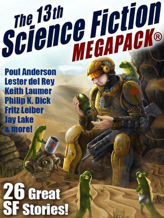 Boek cover The 13th Science Fiction MEGAPACK® van Jay Lake (Onbekend)