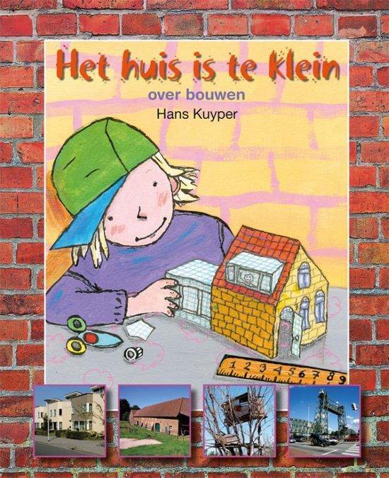Boek cover Het huis is te klein van Hans Kuyper (Hardcover)