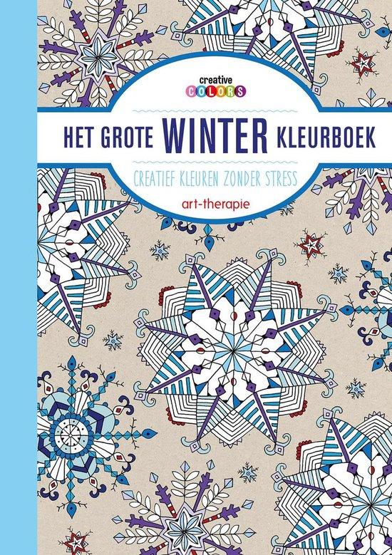 Creative colors - Het grote winter kleurboek - nvt |
