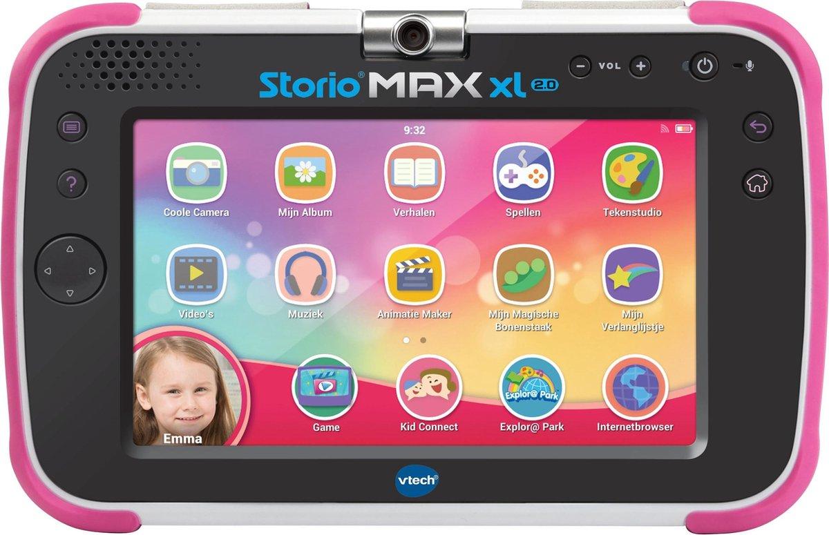 Storio Max XL 2.0 Roze - 7 inch - Kindertablet