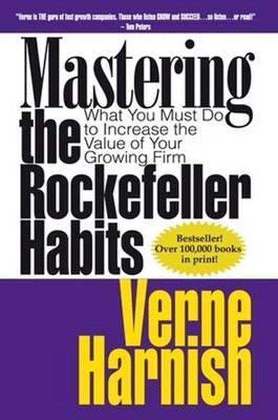 Boek cover Mastering the Rockerfeller Habits van Harnish Verne (Paperback)