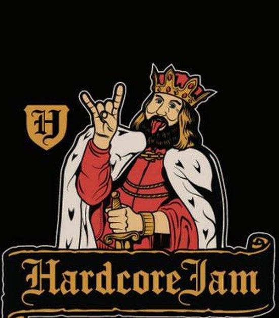 Hardcore Jam Fun T-shirt Maat XL