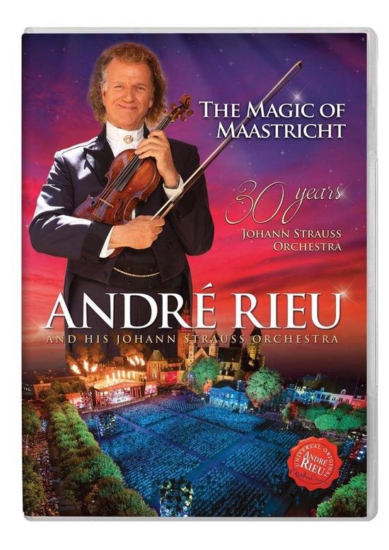 CD cover van The Magic of Maastricht: 30 Years of Rieu van André Rieu