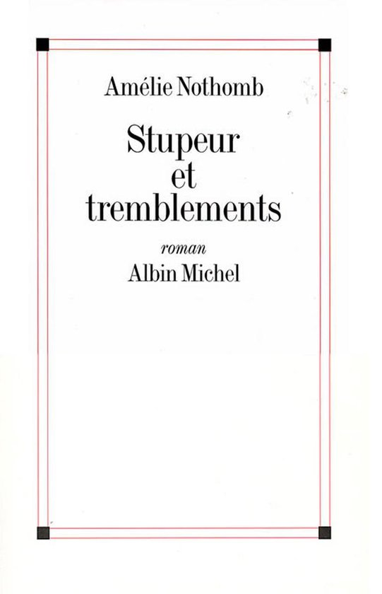 Afbeelding van Stupeur et tremblements