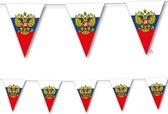 Landen thema versiering Rusland vlaggenlijn / slingers 3,5 meter