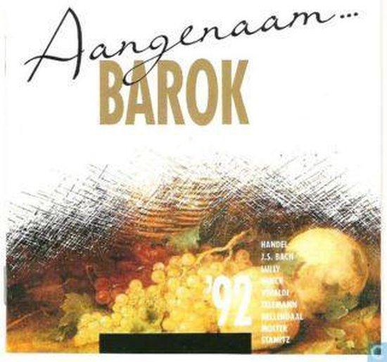 CD cover van Various Artists - Aangenaam... Barok 92 van various artists