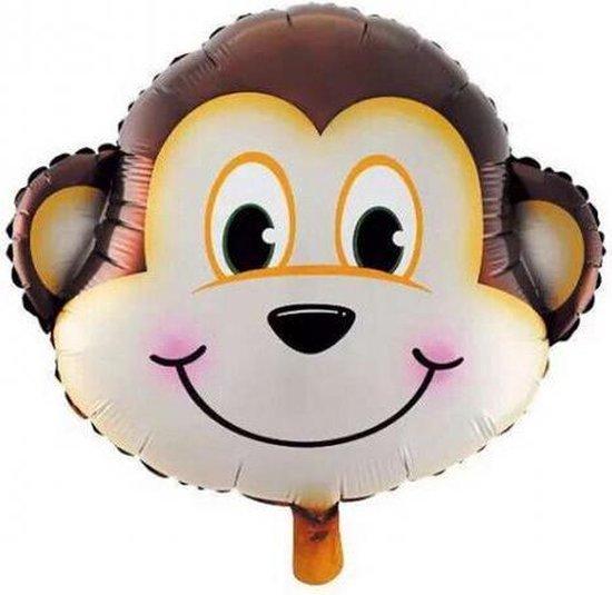 Folie helium ballon Aap 81cm