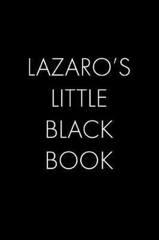 Lazaro's Little Black Book