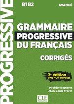 Boek cover Grammaire progressive du français 3e édition - niveau avancé corrigés van