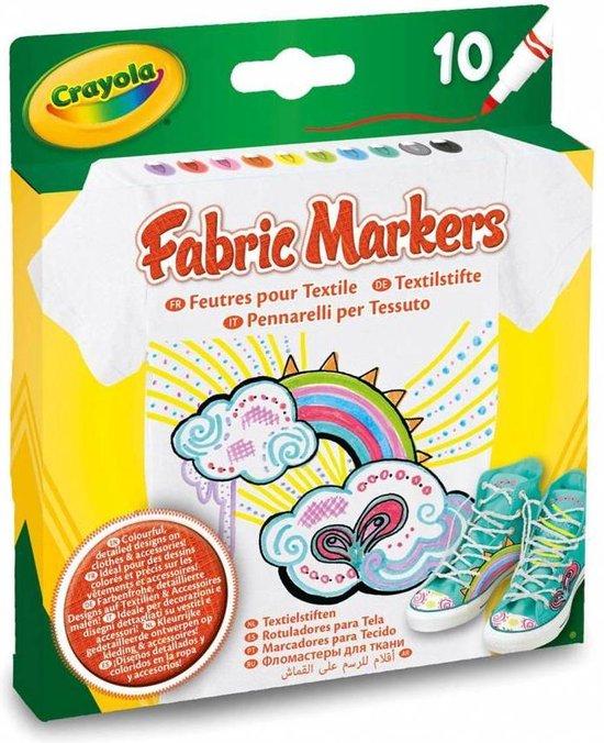 Afbeelding van Crayola 10 Textielstiften
