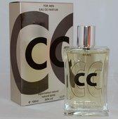 CC Platinium Heren Parfum, een frisse geur met Citrus en diverse Houtsoorten.