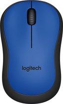 Logitech M220 Silent - Draadloze Muis - Blauw