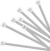 Kabelbinders 2,5 X 200 Mm Wit 100 Stuks