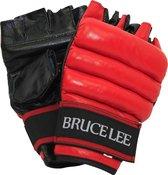 Bruce Lee Allround Free Fight handschoenen - MMA Handschoenen - PU - S/M