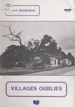 Villages oubliés