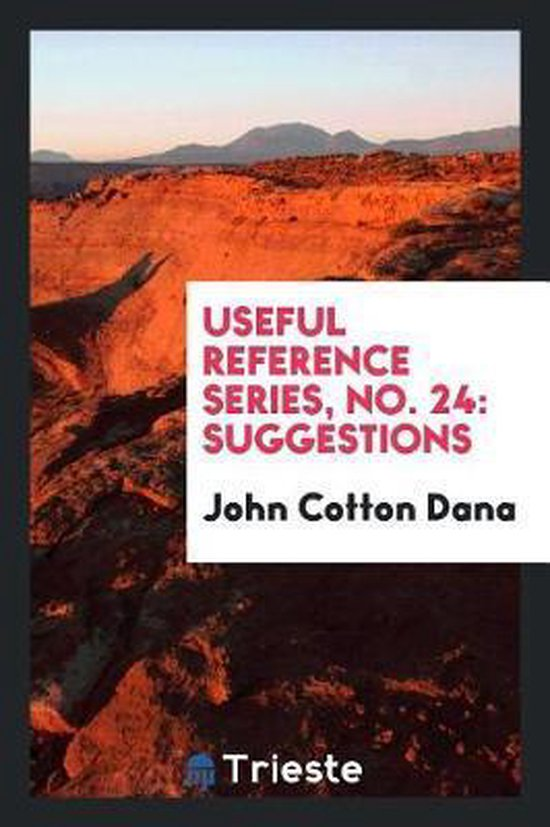 Useful Reference Series, No. 24