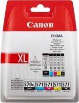 Canon PGI-570XL/CLI-571 - Inktcartridge / Zwart /